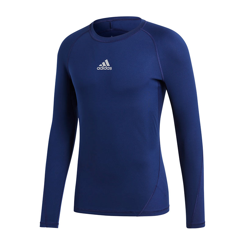 Adidas alphaskin Sports Shirt Long Sleeve Dark Blue