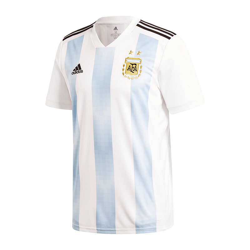 Adidas Argentina Home Jersey World Cup 2018 White Blue