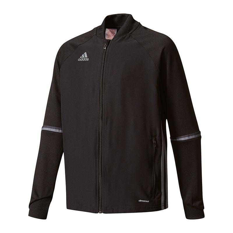 Veste Training Junior Adidas Condivo 16 7 8 ans Noir gris  5ba1de50f00