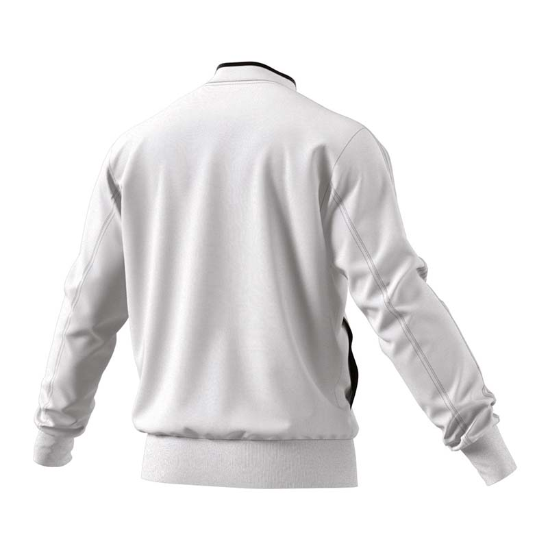 cfffe648 adidas Condivo 18 Polyester Jacket White Black M. About this product.  Picture 1 of 3; Picture 2 of 3 ...