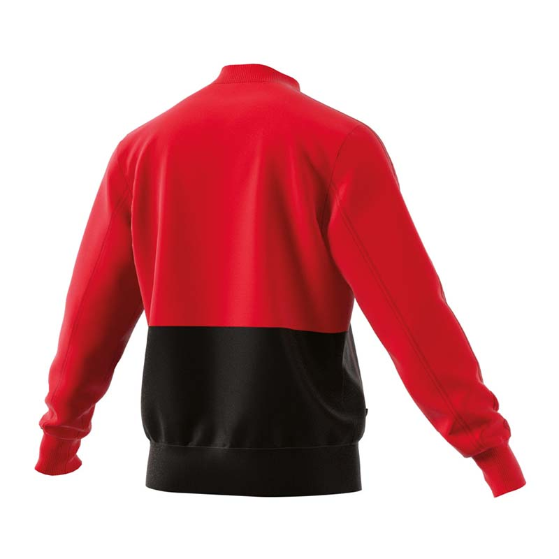 Adidas Condivo 18 Presentation Jacket Red Black M Ebay