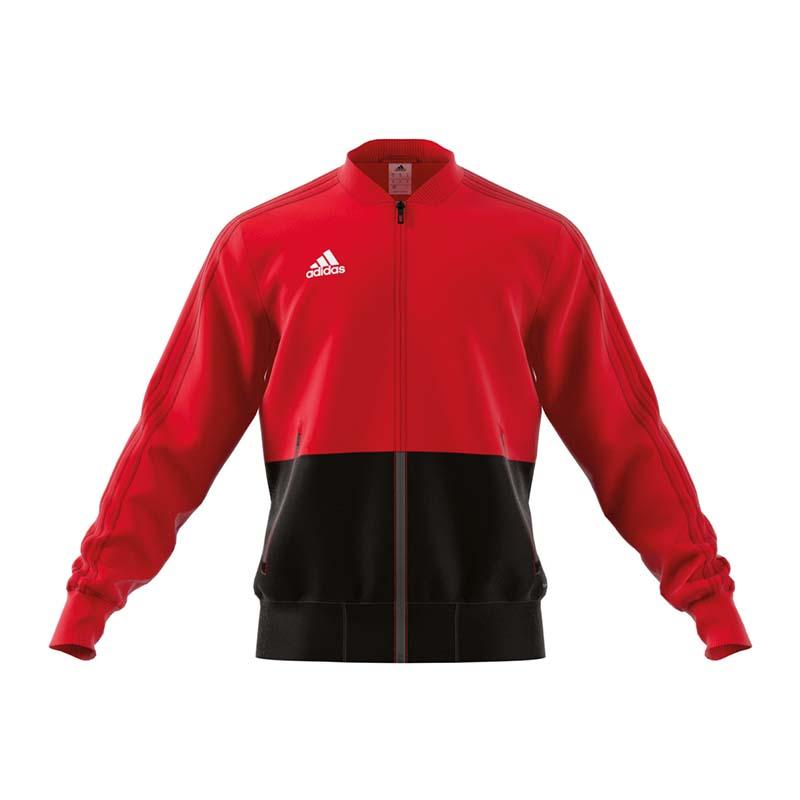 adidas Condivo 18 Presentation Jacket Red Black S for sale online  0471672c84