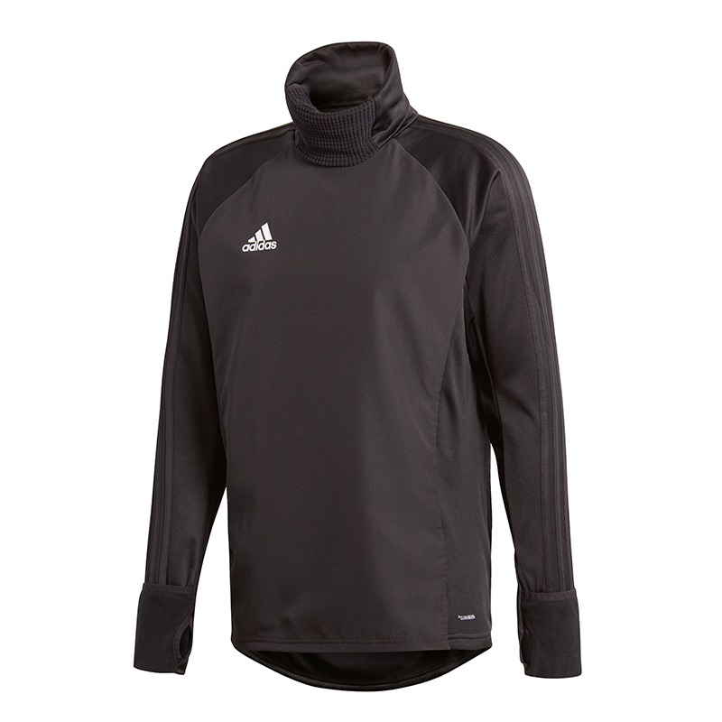 Adidas Condivo 18 Warm Top Sweatshirt Black