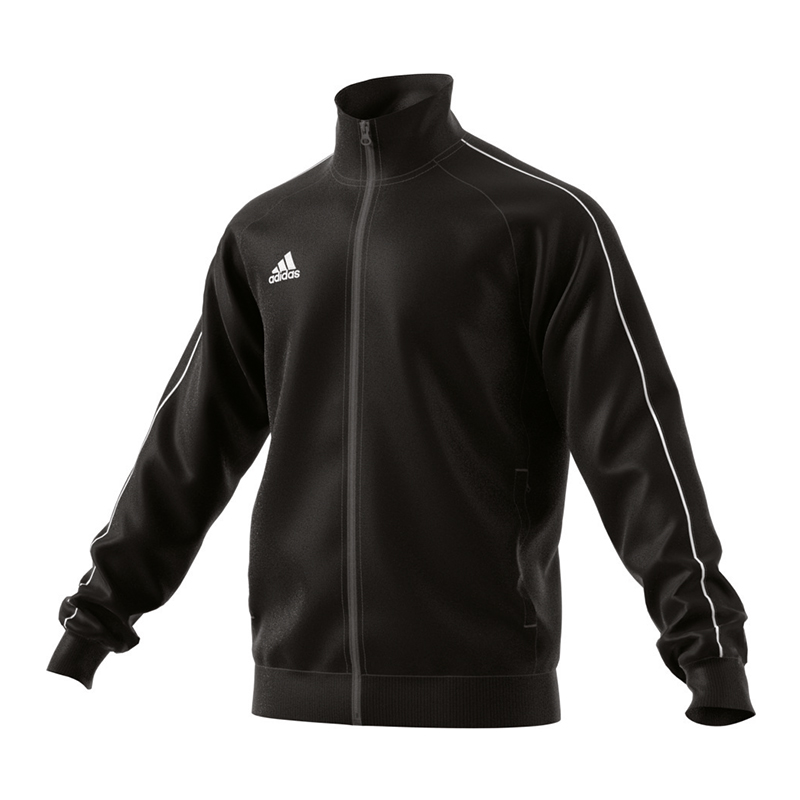 21b100f81fca adidas Training Jacket Core 18 PES Men Zip Pockets XS X Small NERO ...
