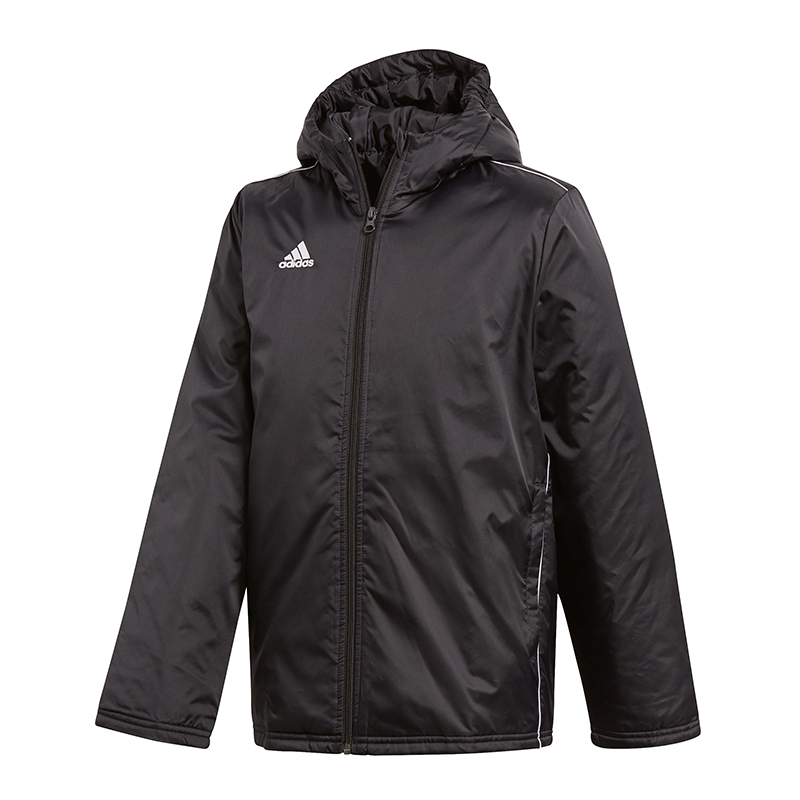 Adidas Core 18 Stadium Jacket Kids Black