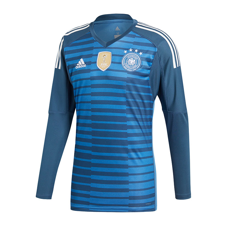 Adidas DFB Germany Goalie Jersey World Cup 2018 Blue