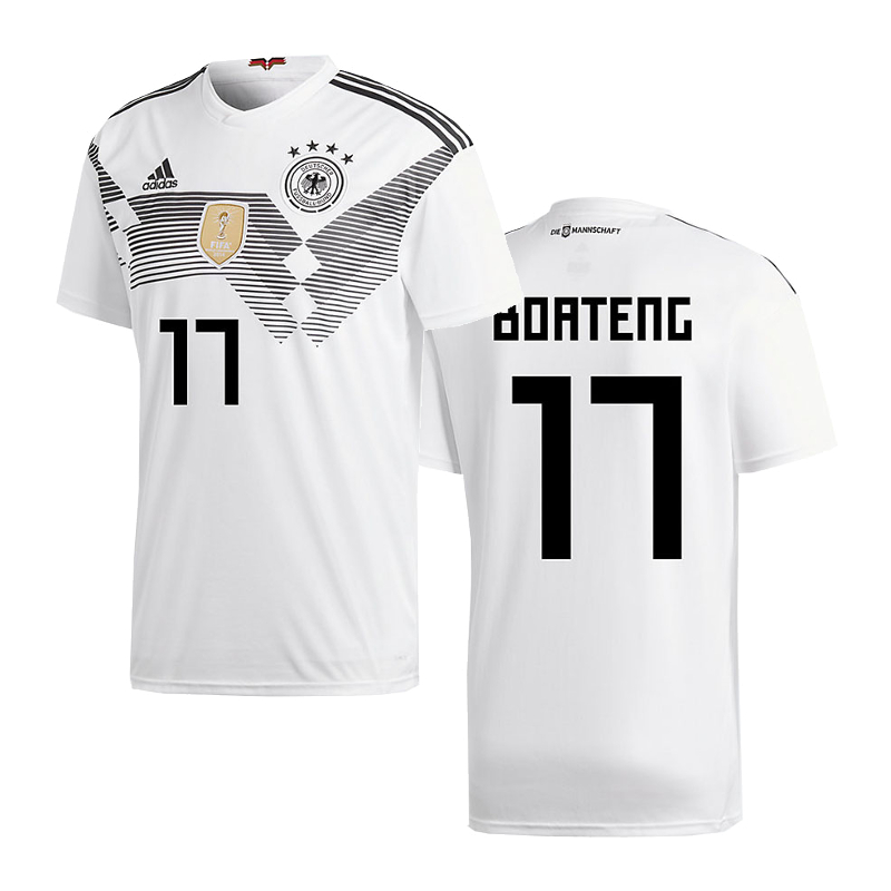 Adidas DFB Germany Jersey Home Kids World Cup 2018 Boateng 17