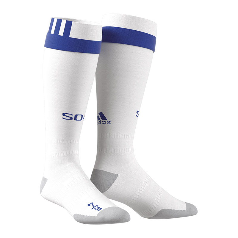 Adidas FC SCHALKE 04 Stirrup Socks Away 20172018 White
