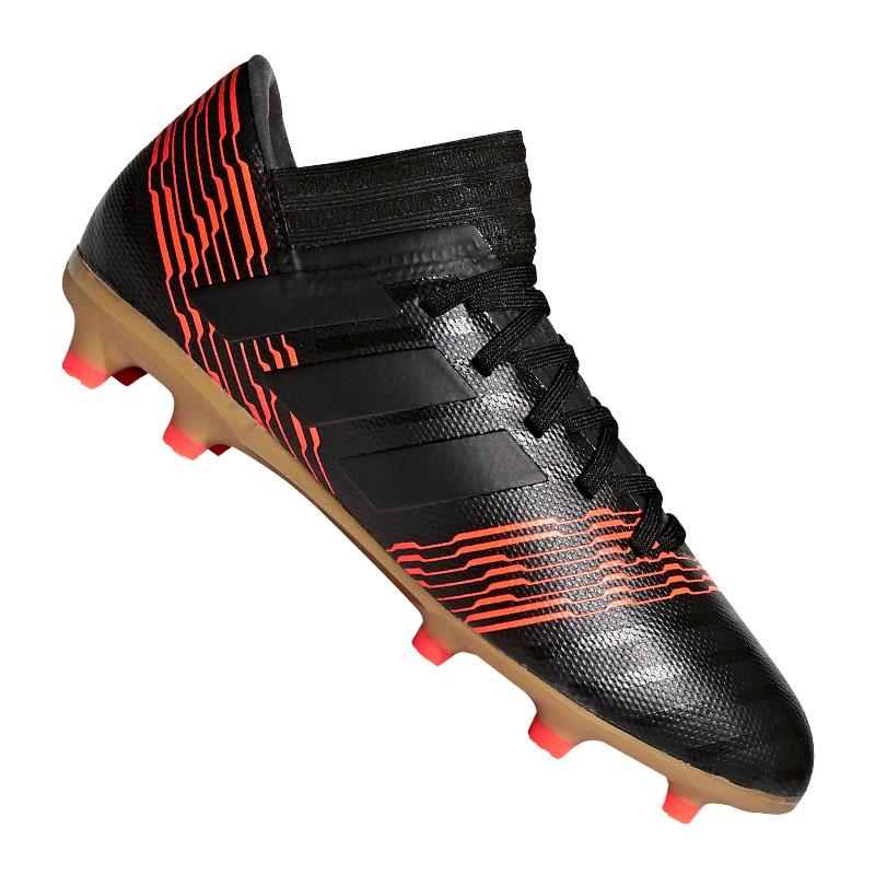 online store 05f85 e5b1c Adidas Nemeziz 17.3 Fg J Kids Black Red