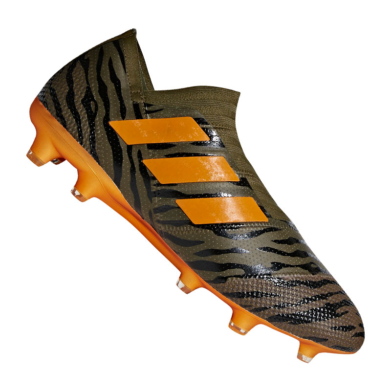 88939c604bf7 ... black -  Adidas nemeziz 17+ 360agility FG Green Orange .