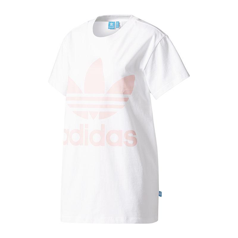 adidas t shirt donna bianco