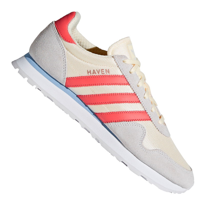 adidas Originals Haven Sneaker Women's White Rosa 36