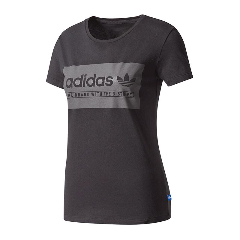 adidas originals t-shirt damen grau
