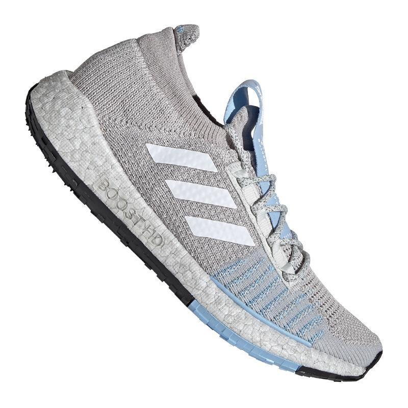 adidas Pulse Boost HD Running Damen Blau Grau blau