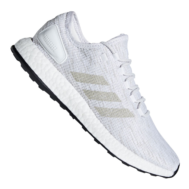 the latest e1bbd 8c64d ADIDAS PURE BOOST RUNNING WHITE
