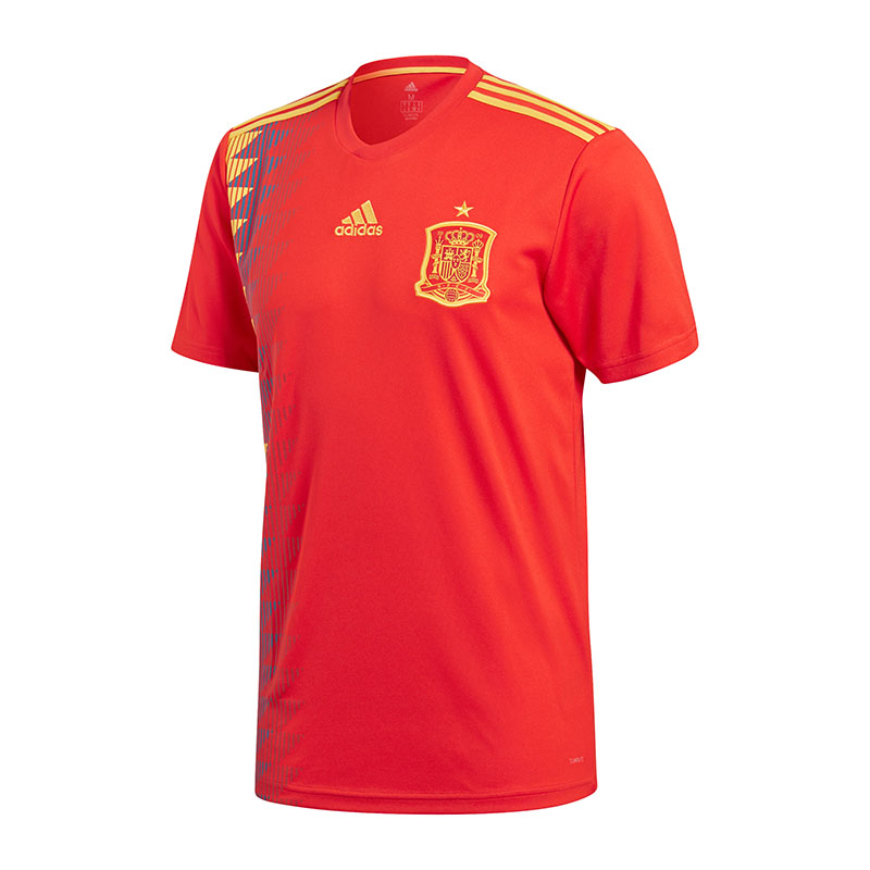 Adidas Spain Home Jersey World Cup 2018 Red