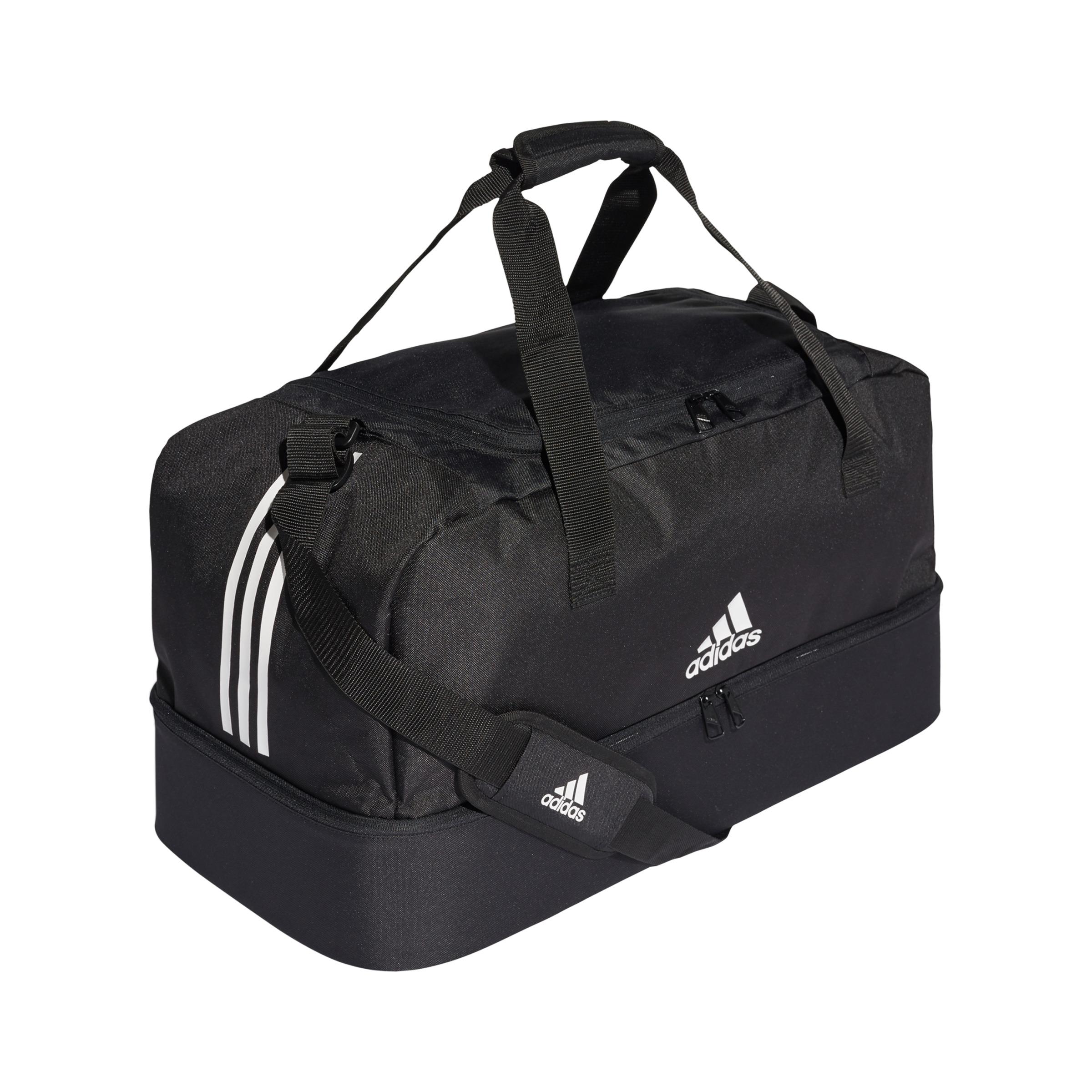 adidas DQ1080 Tiro Duffel Sport Bag With Base Compartment Size M ... b27e4bb4fd87a