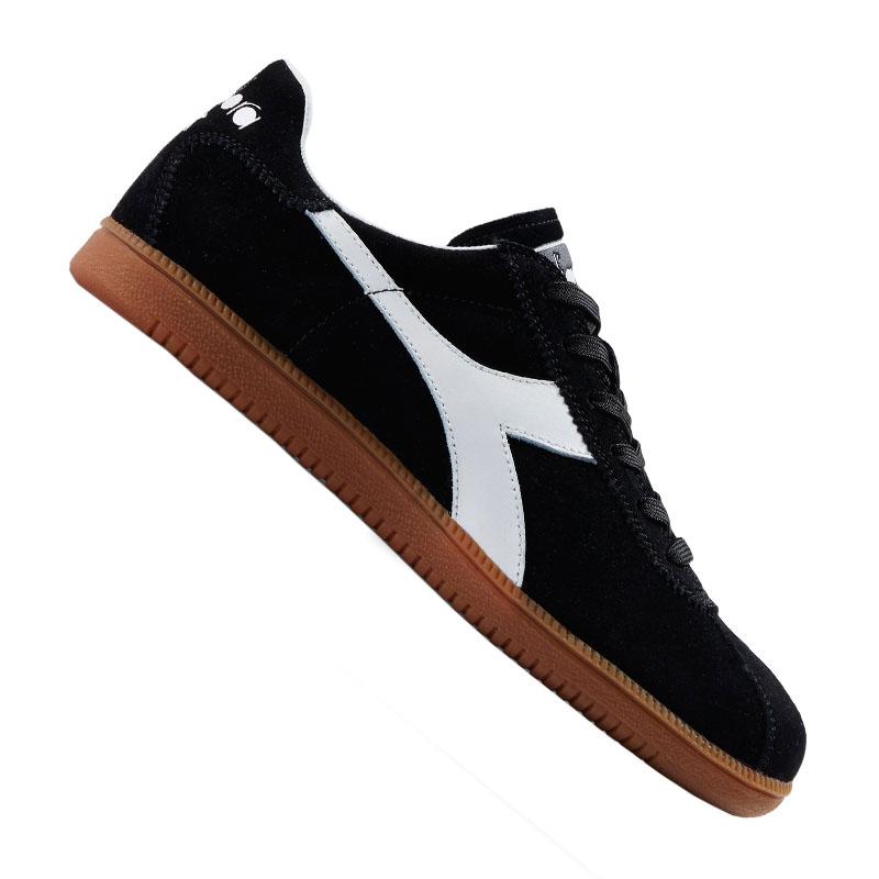 Diadora Tokyo SNEAKERS Black White Brown 172302-80013 44 Black for ... cd34cc84b6a