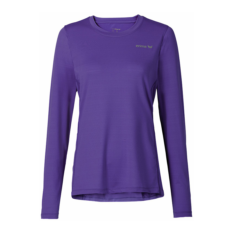 Erima Green Concept Long Sleeve Shirt Run Ladies Purple