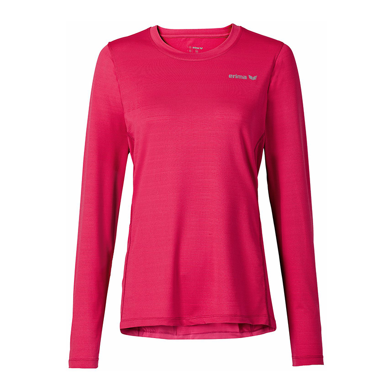 Erima Green Concept Long Sleeve Shirt Run Pink Ladies