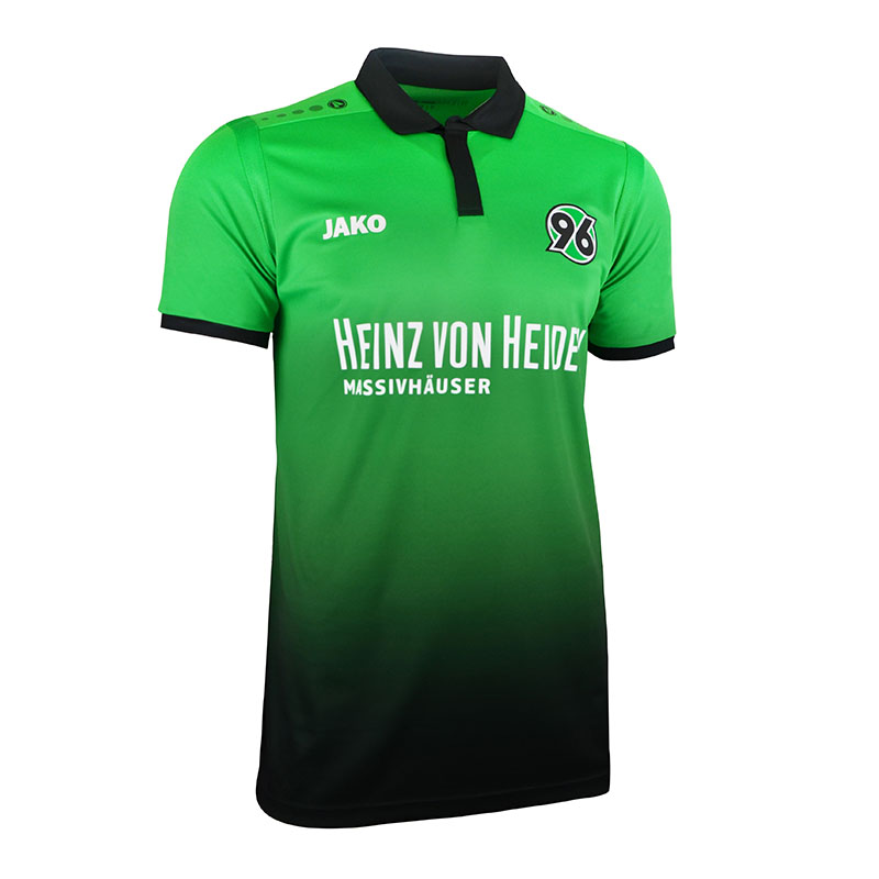 JAKO HANNOVER 96 Jersey Away 1718 Kids Green F06