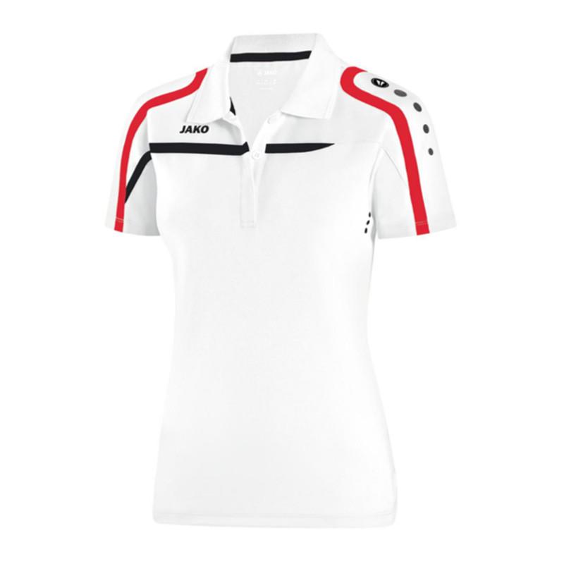 607f308a ... ireland jako performance polo shirt ladies white black f00 d2b7c ac5b1