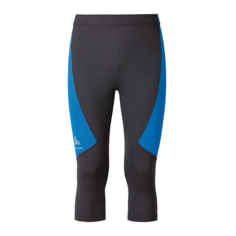 Odlo Fury Tight 34 Trousers Running Grey F10394