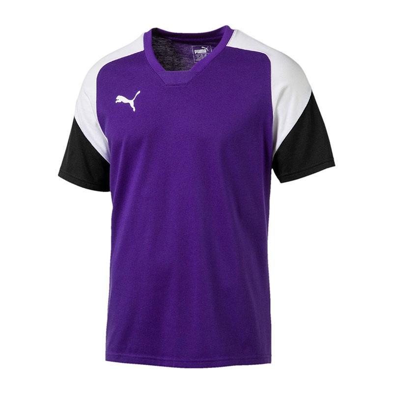 512c5916c8e3 PUMA Esito 4 Tee T-shirt Purple White F10 XL for sale online