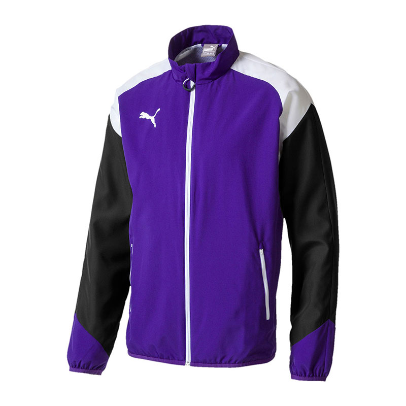 1c6430143a88 PUMA Presentation Jacket Esito 4 Prism Violet-puma White-ebony L for ...