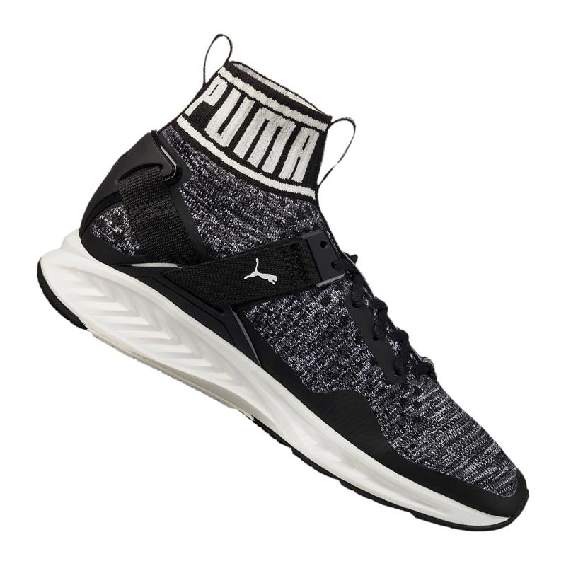 PUMA Ignite EVO Knit Sneaker Nero f01