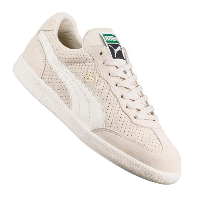 Puma LEGA camoscio Perf Sneakers F03