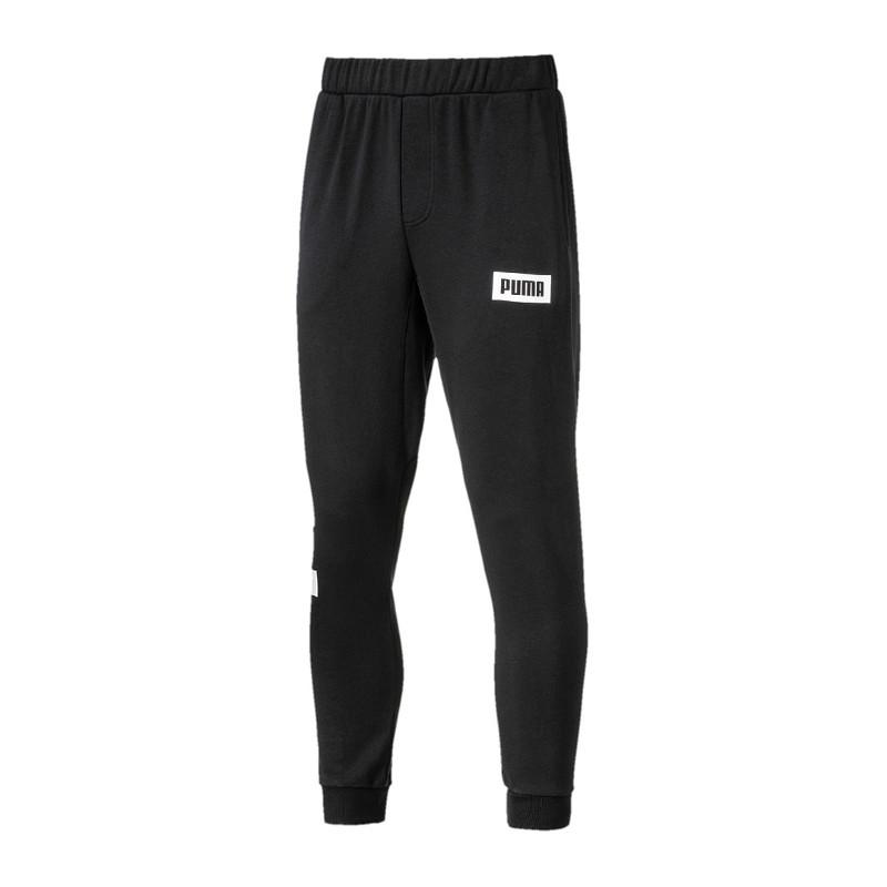 35b36f4cce2d PUMA Rebel Sweat Pant Long Trousers Pants Black F01 M