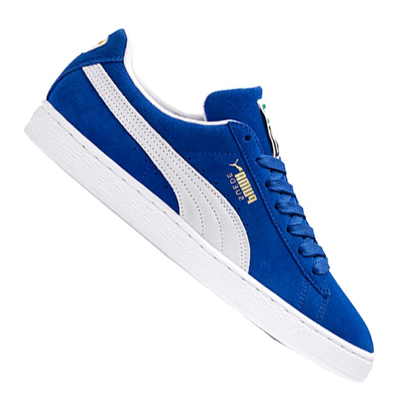 Puma Suede Classic+ Blaue Herren Sneakers |