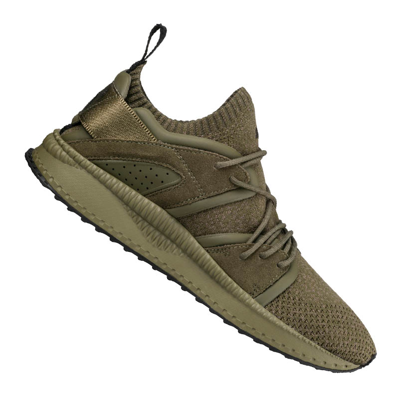 Puma Tsugi Blaze evoknit Sneakers cachi F03