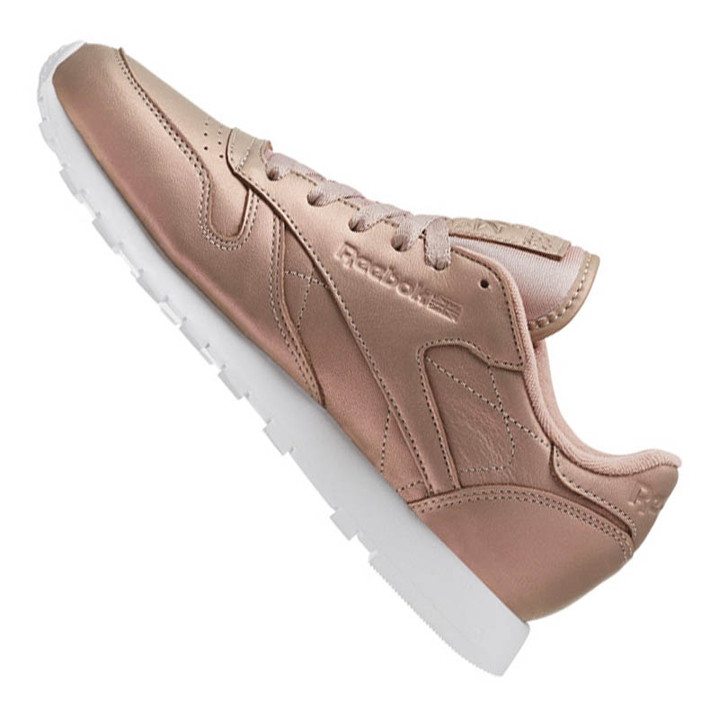 1d4407046 ... Reebok Classic Leather Pearlized Women Rose White. Picture 1 of 6; ...