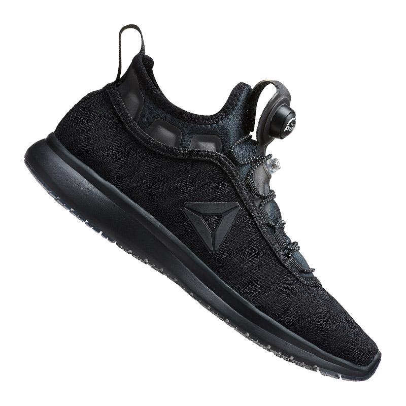 1f9d43d53a9 Reebok Pump Plus Flame Black Women Running Shoes SNEAKERS Trainers Bd4939  UK 4