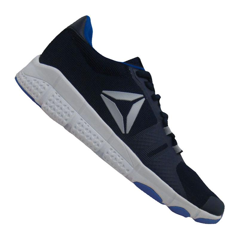 56b76974611f94 Reebok Trainflex Training Blue Grey 42 5