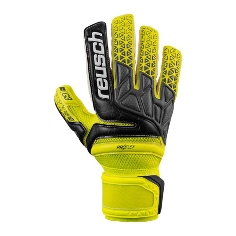 0921f32c814 Mens Reusch Prisma Prime G3 Negative Cut Finger Support Goalkeeper ...